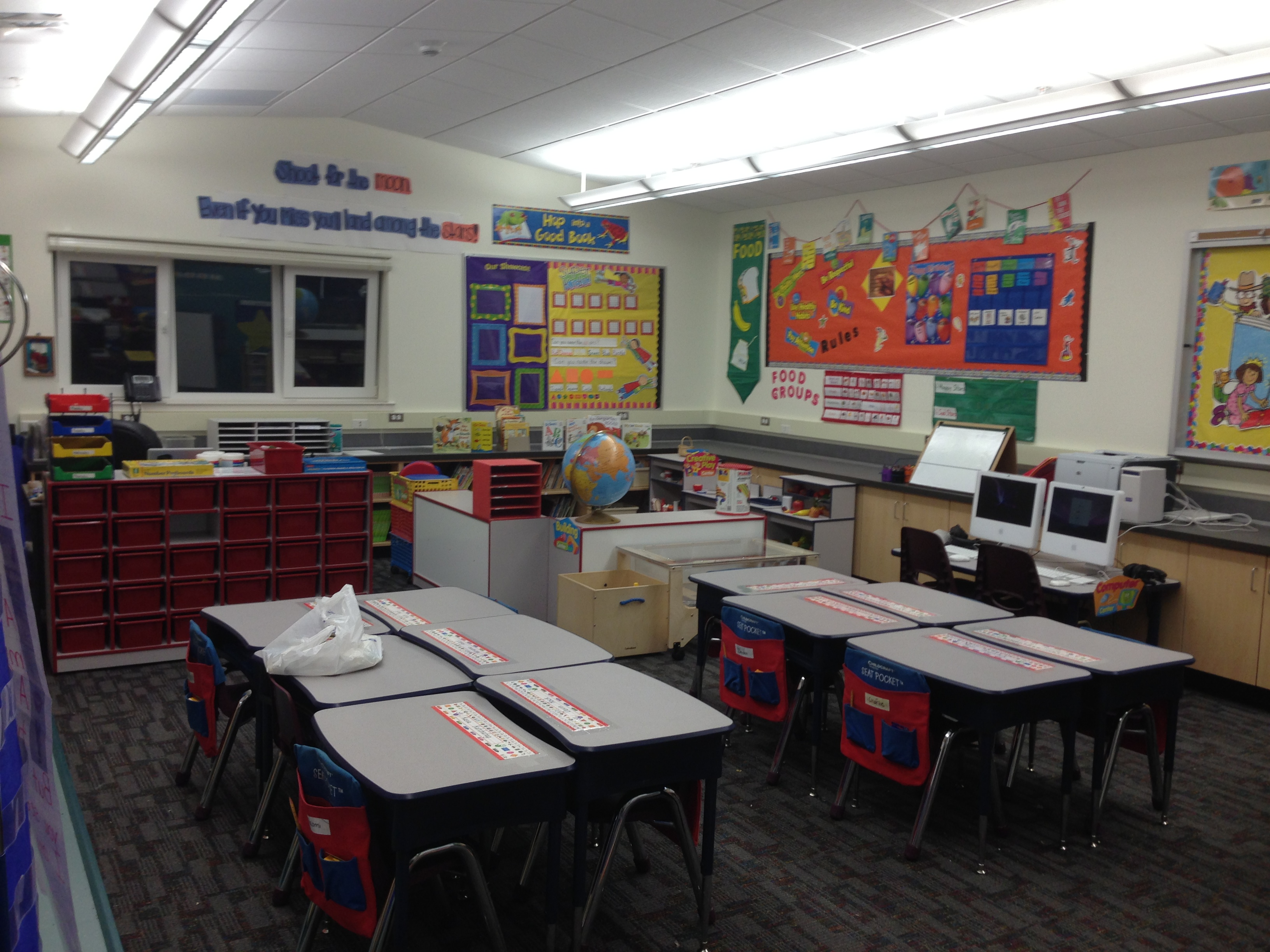 Kindergarten Classroom Design Photos ~ Layout the kindergarten all stars