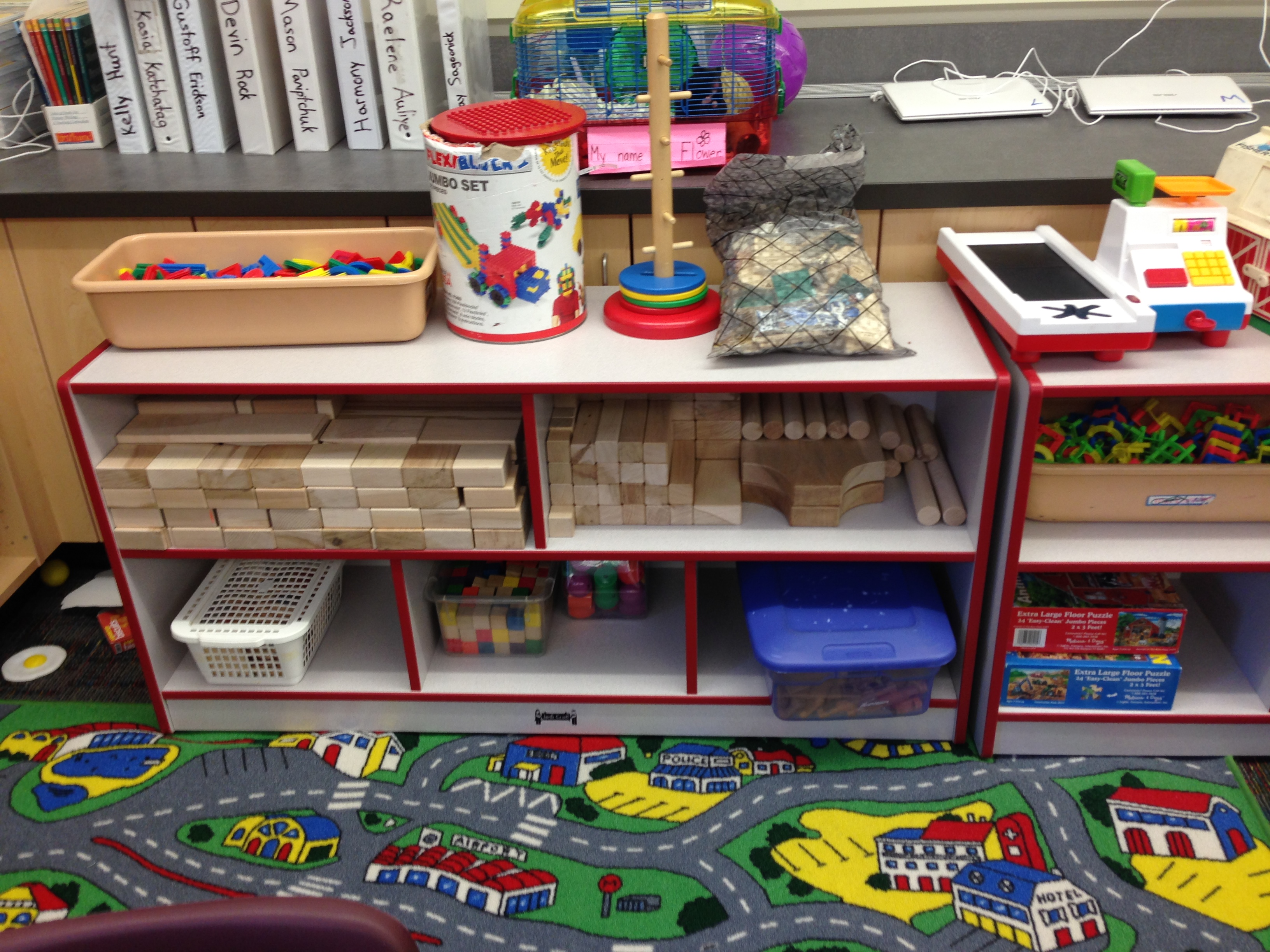 Updated classroom layout the kindergarten all stars for Center block house